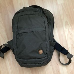 "fjallraven ""RÄVEN 28 Backpack"" in dark olive"